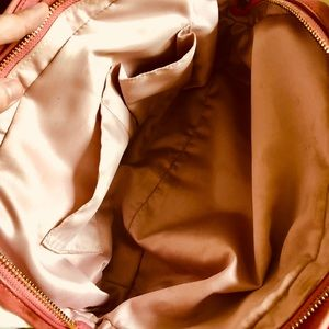 Coach Bags - Coach Pink & Cream Matching Purse and Wallet